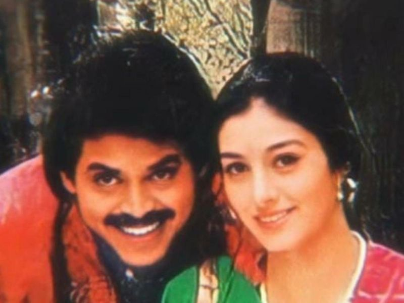 Venkatesh and Tabu in 'Coolie No. 1'
