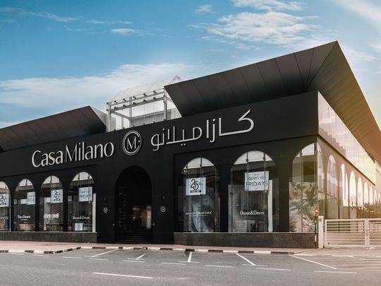 Casa Milano Dubai Showroom
