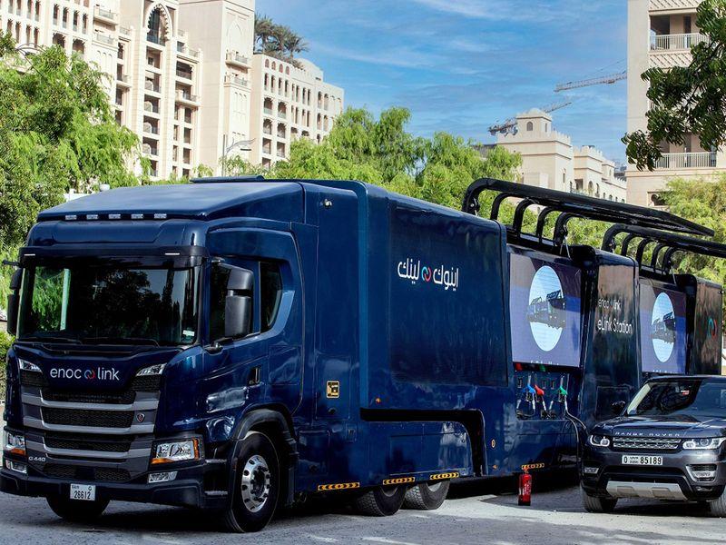 ENOC Elink truck
