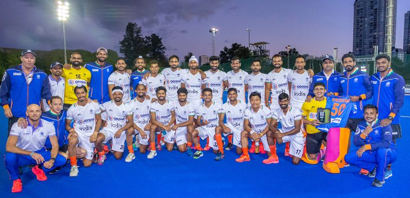 Olympics - Indian hcokey team