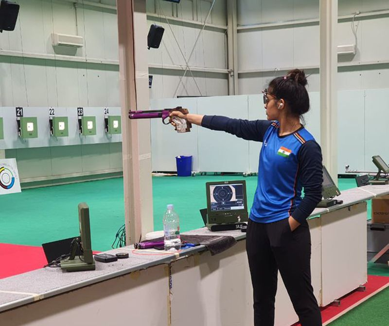 Olympics - Manu Bhaker