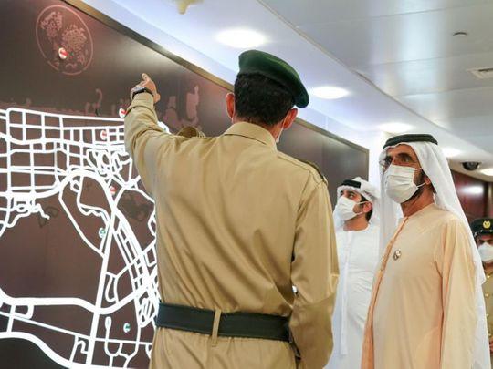 Sheikh mohammed dubai police