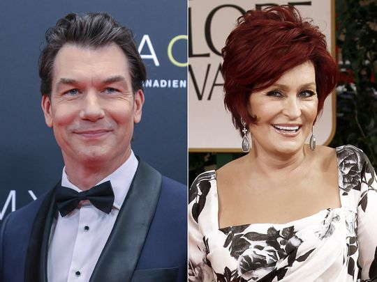 Jerry O'Connell and Sharon Osbourne