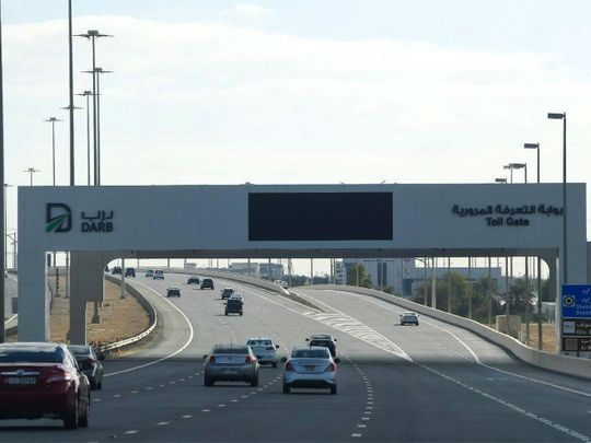 STOCK Darb toll gate