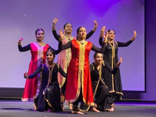 Artists dance