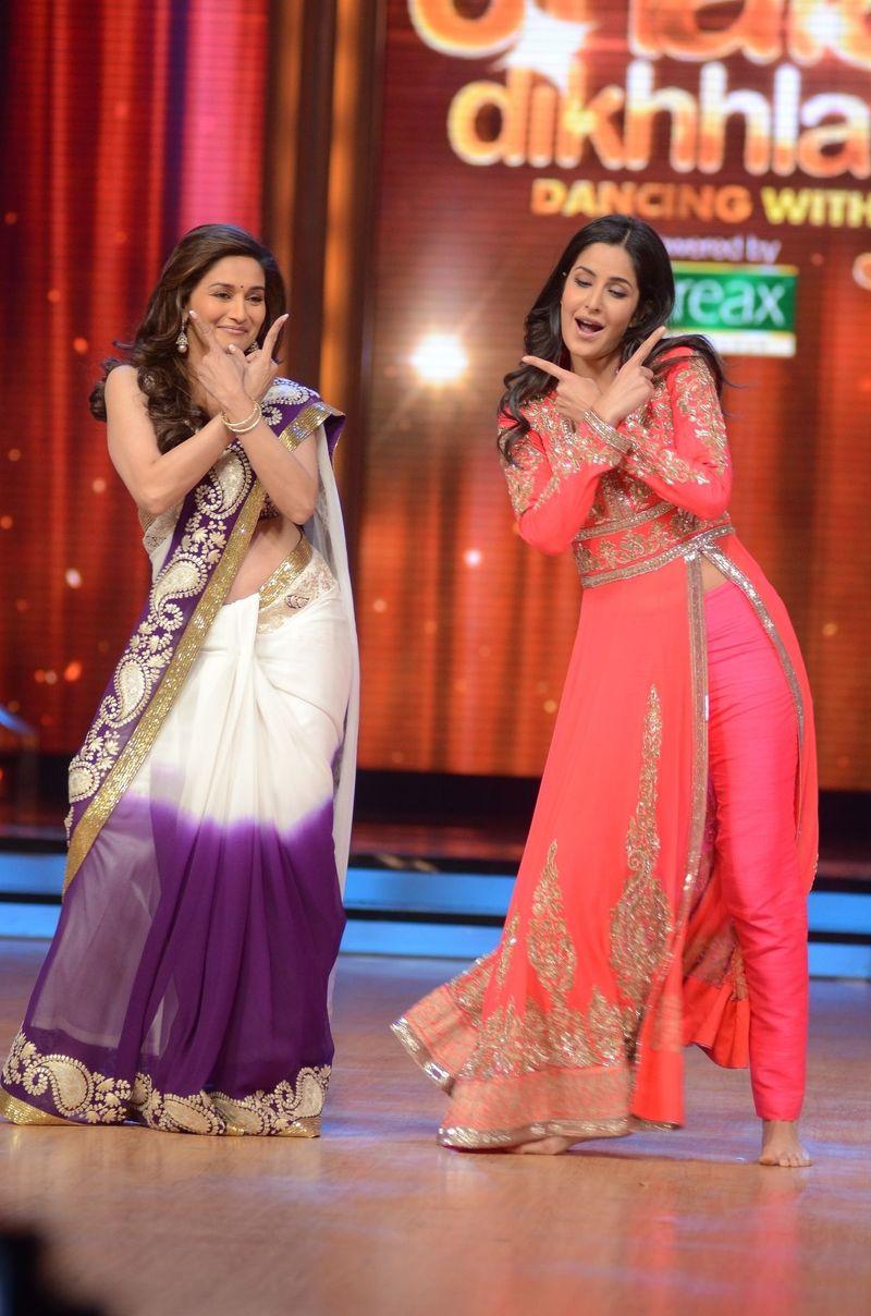Madhuri Dixit and Katrina Kaif