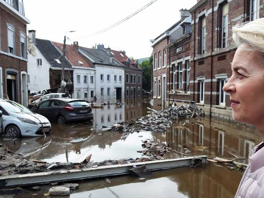 Belgium flood
