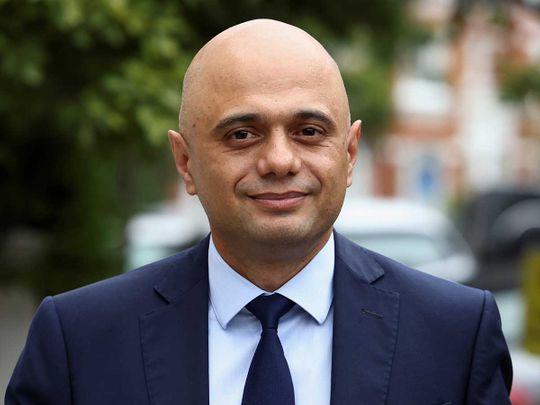 Britain's new Health Secretary Sajid Javid
