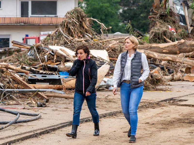 Germany flood Agriculture Minister Julia Klöckner