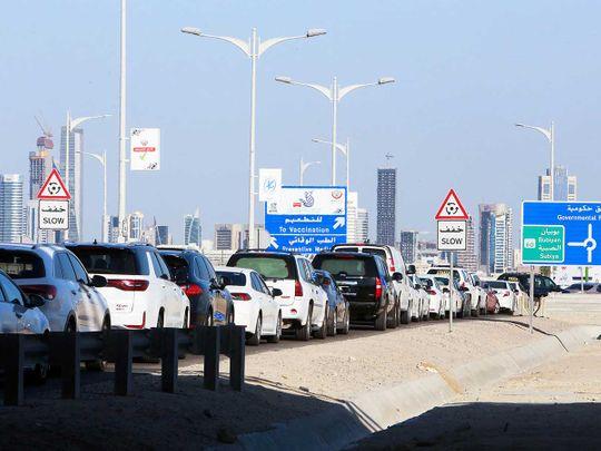 Kuwait covid vaccine cars