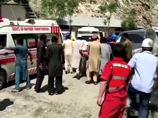 Pakistan blast Dasu
