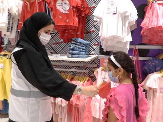 RTA officials gift clothes to orphans for Eid Al Adha 2021-1626518052323