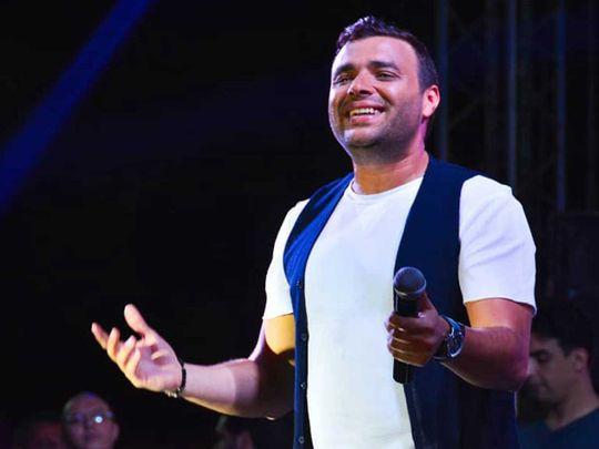 Singer Ramy Sabry