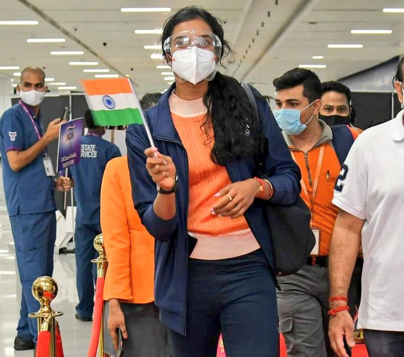 India leaving ceremony for Tokyo 2020