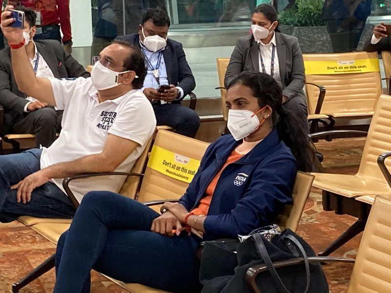 Indian Olympians on way to Tokyo