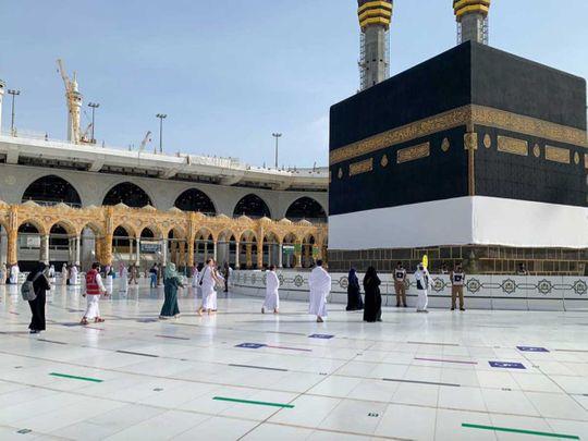 Mecca Kaaba pilgrims saudi