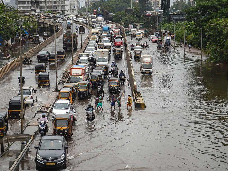 Mumbai flood rain