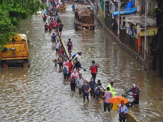 Mumbai rain flood