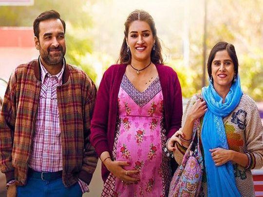 Pankaj Tripathi, Kriti Sanon, Sai Tamhankar in 'Mimi'