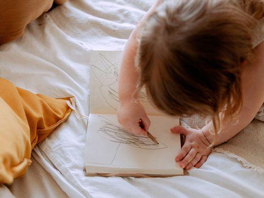 scribbling-child