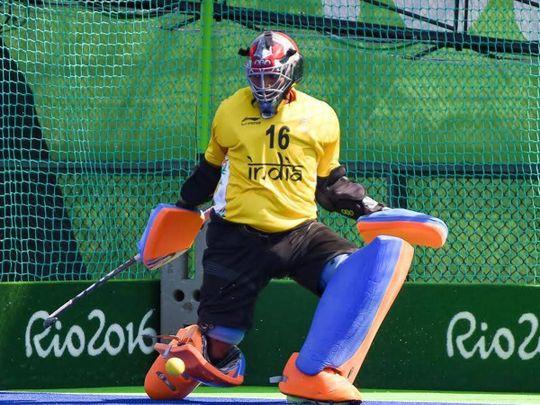 Hockey - PR Sreejesh in Rio