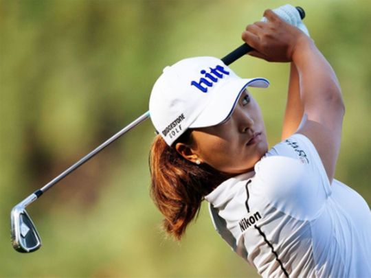 Ko Jin-young is representing South Korea at the Olympics