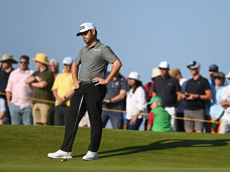 Louis Oosthuizen missed out on The Open title at Royal St George's
