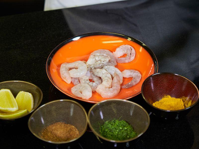 Marinate Shrimps