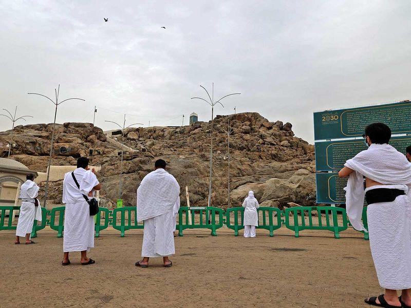 Mount Arafat hajj