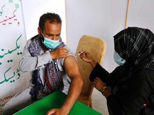 PAKISTAN covid vaccine moderna