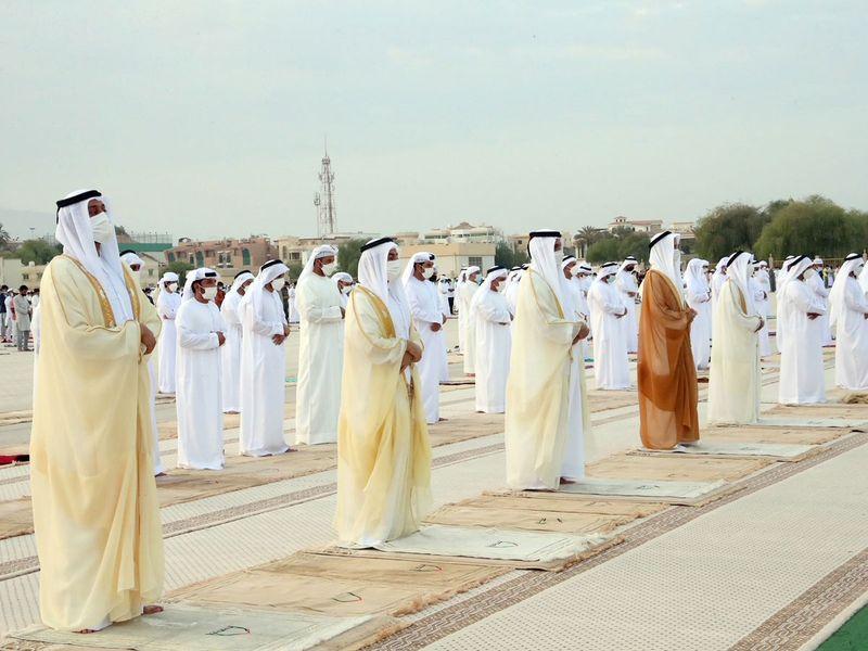 20210720 rak leader eid prayer