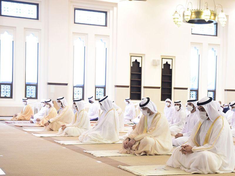 20210720 uaq leader eid prayer