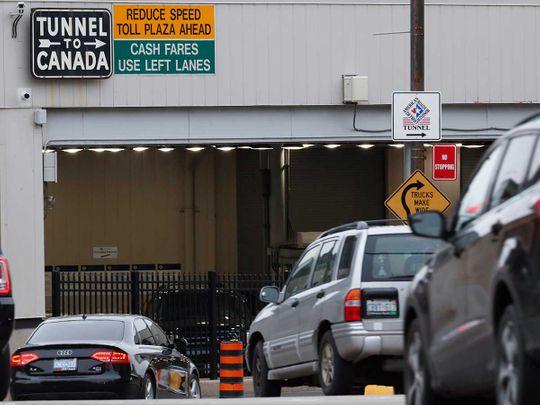 Canada tunnel