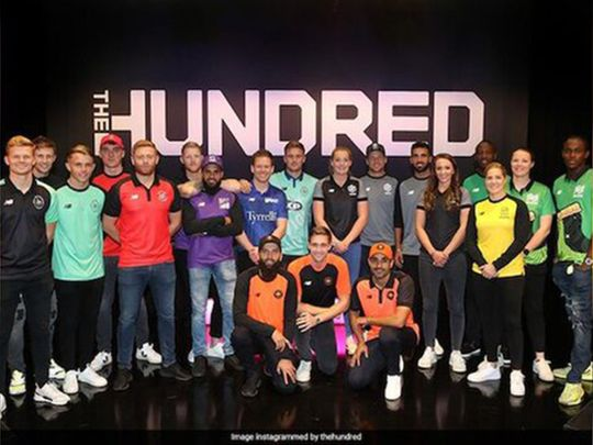 Cricket - 100 launch