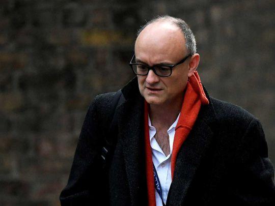 Dominic Cummings britain adviser