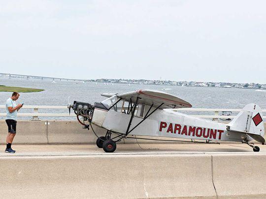 Landon Lucas, 18, pilot bridge plane