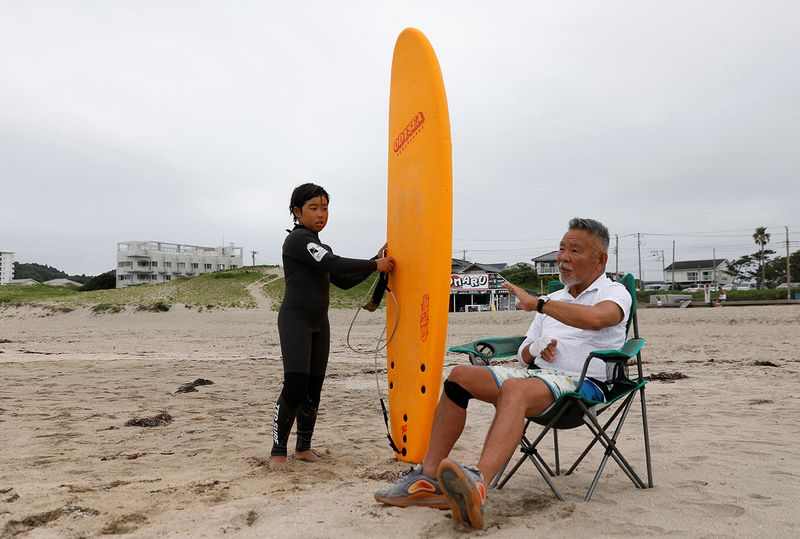 Olympics - surfing