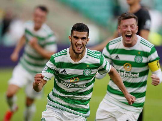 Celtic's Israeli star Liel Abada scored on debut against Midtjylland