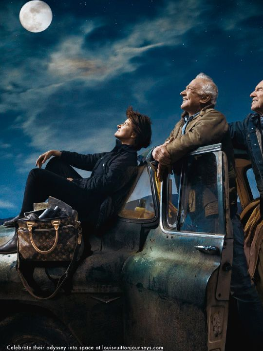 Louis Vuitton campaign with Sally Ride