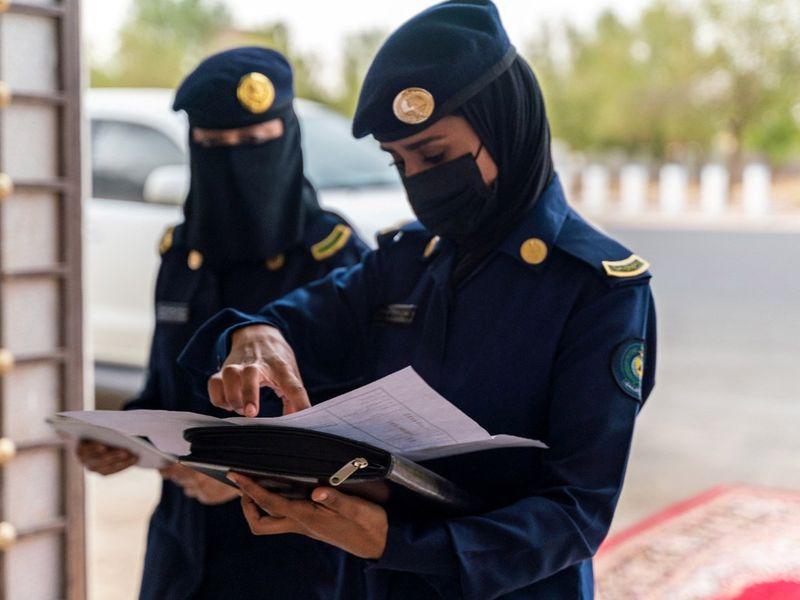 SAUDI FEMALE OFFICERS