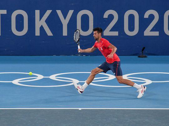 Olympic Games - Djokovic