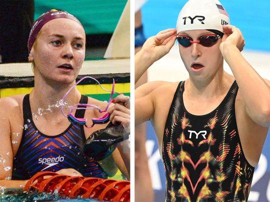 Olympics - Titmus & Ledecky