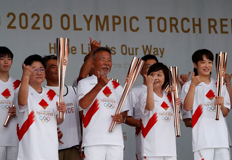Olympics - Torch replay