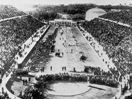 first olympics