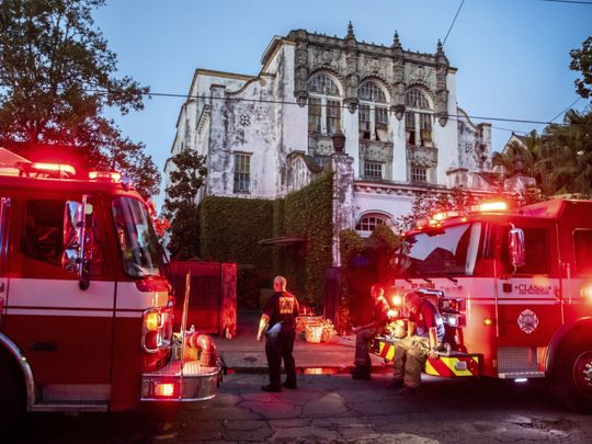 Beyonce house fire-1627045979942