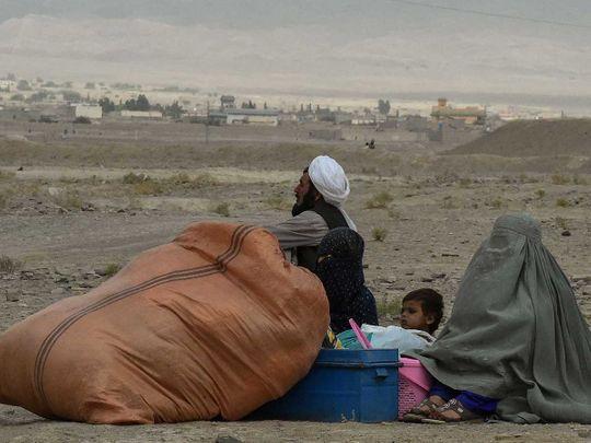 Chaman Pakistan Afghan border stranded