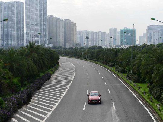 Hanoi Vietnam motorway lockdown covid