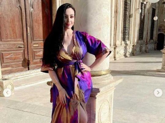 Belly dancer sparks uproar over mosque images in Egypt