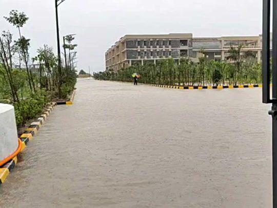 Telangana flood rain