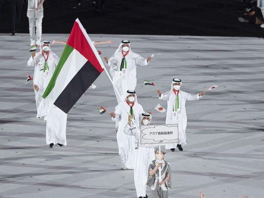 UAE at Tokyo Olympics